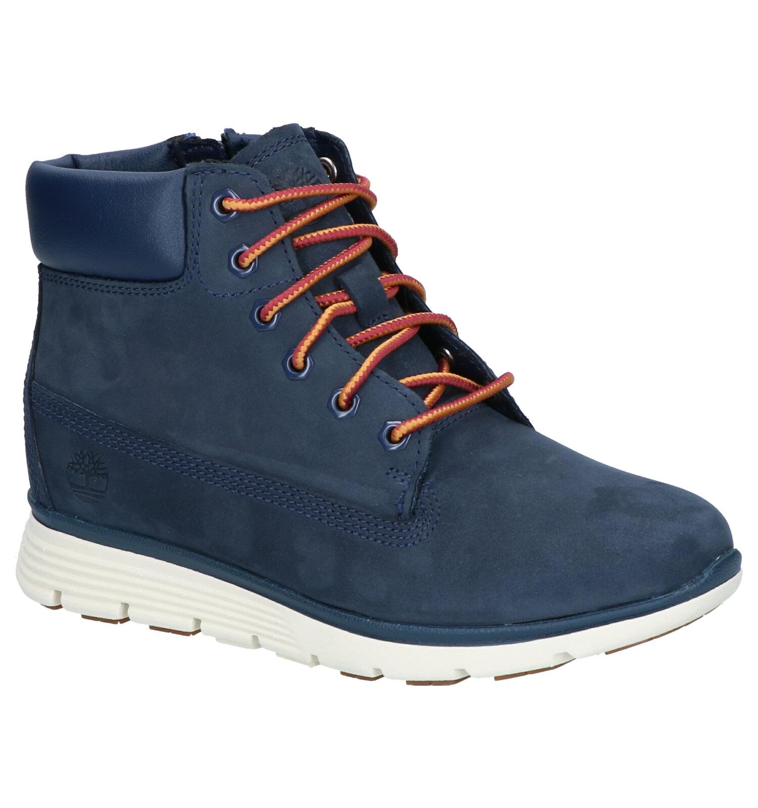 Timberland Killington 6 Inch Blauwe Boots   SCHOENENTORFS.NL   Gratis verzend en retour