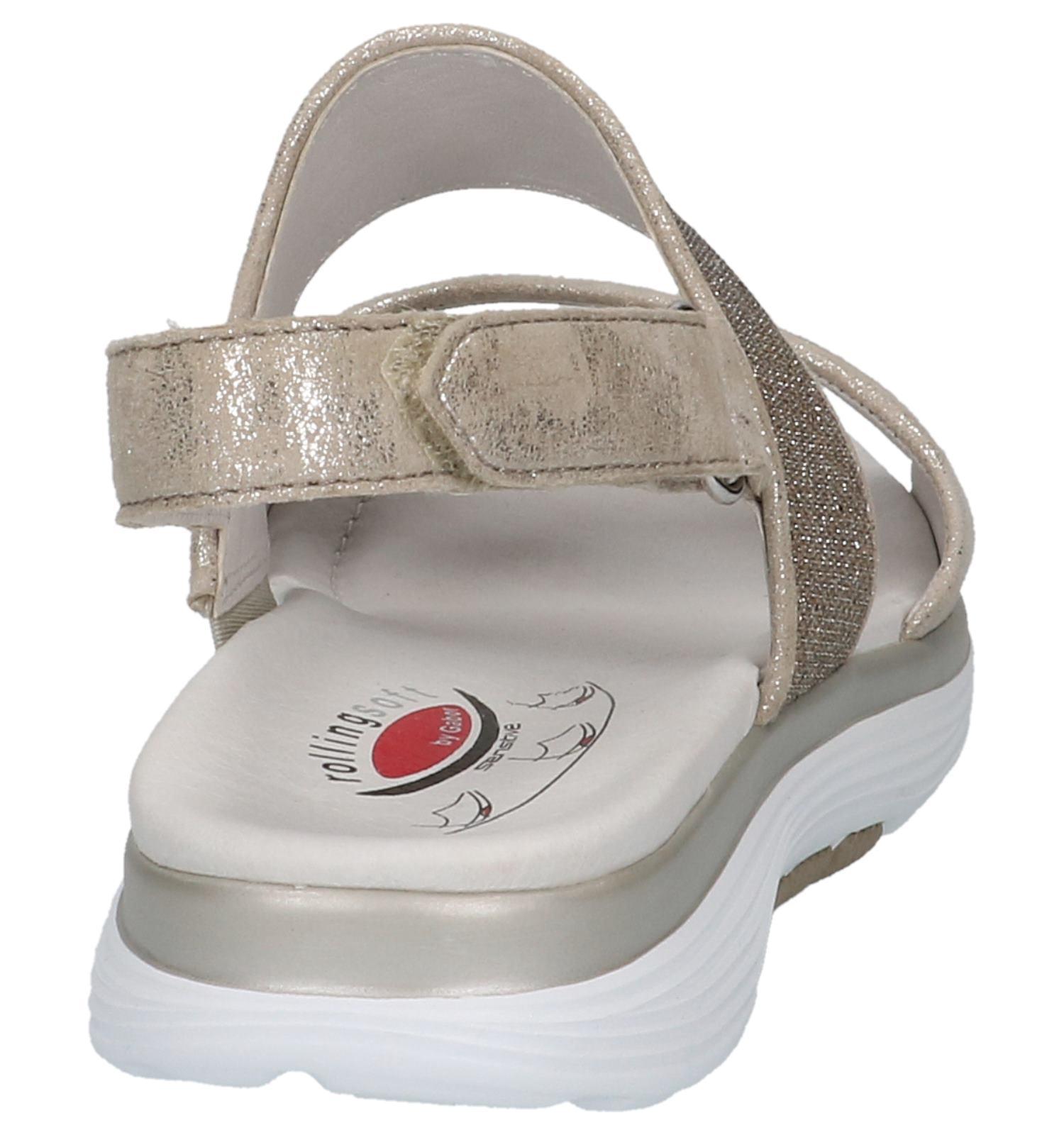 Comfort Gabor Rolling Soft Sandalen Zilver m80wNn