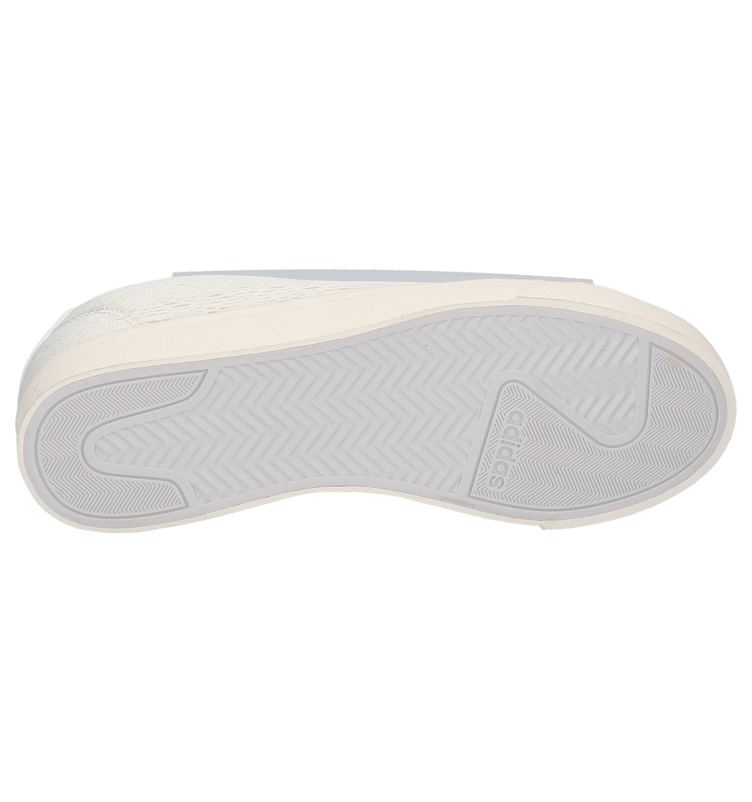 Ecru Sneakers Cloudfoam Cl Qt Adidas Daily OXwPkn80