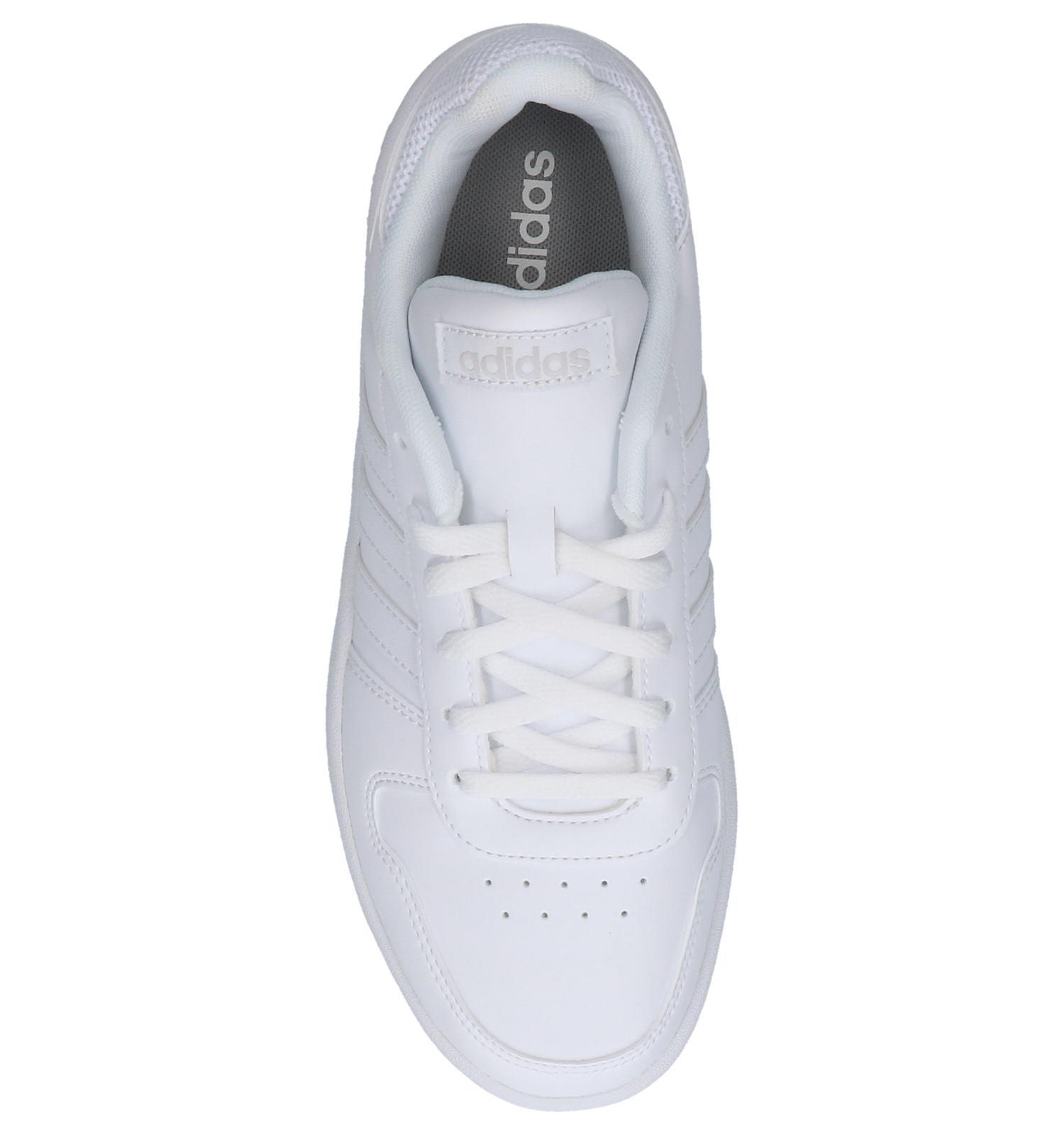 Witte Sneakers adidas Hoops 2.0 | SCHOENENTORFS.NL | Gratis