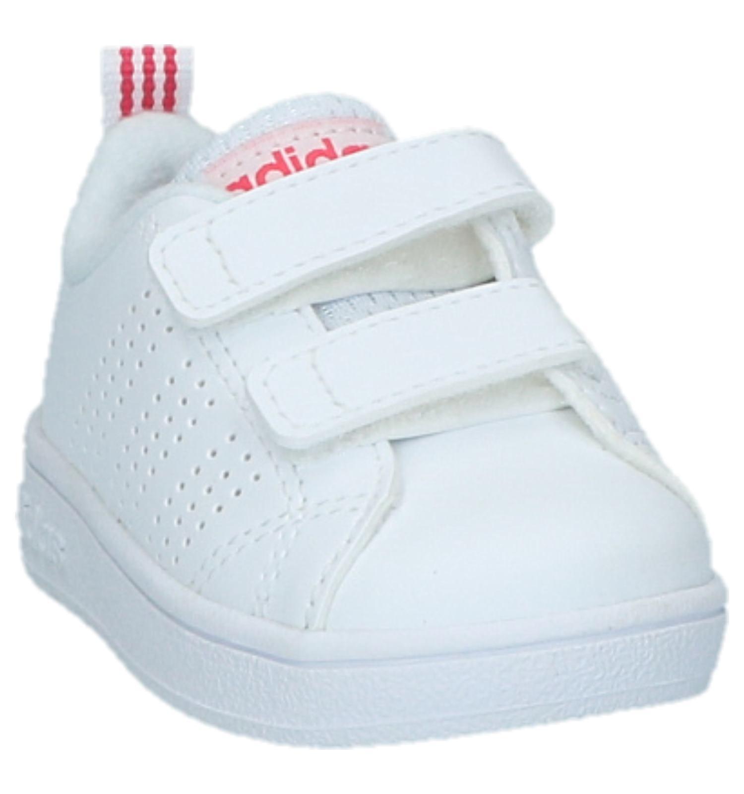 c60e5aba25b Witte Babysneakers adidas VS Advantage Clean | SCHOENENTORFS.NL | Gratis  verzend en retour