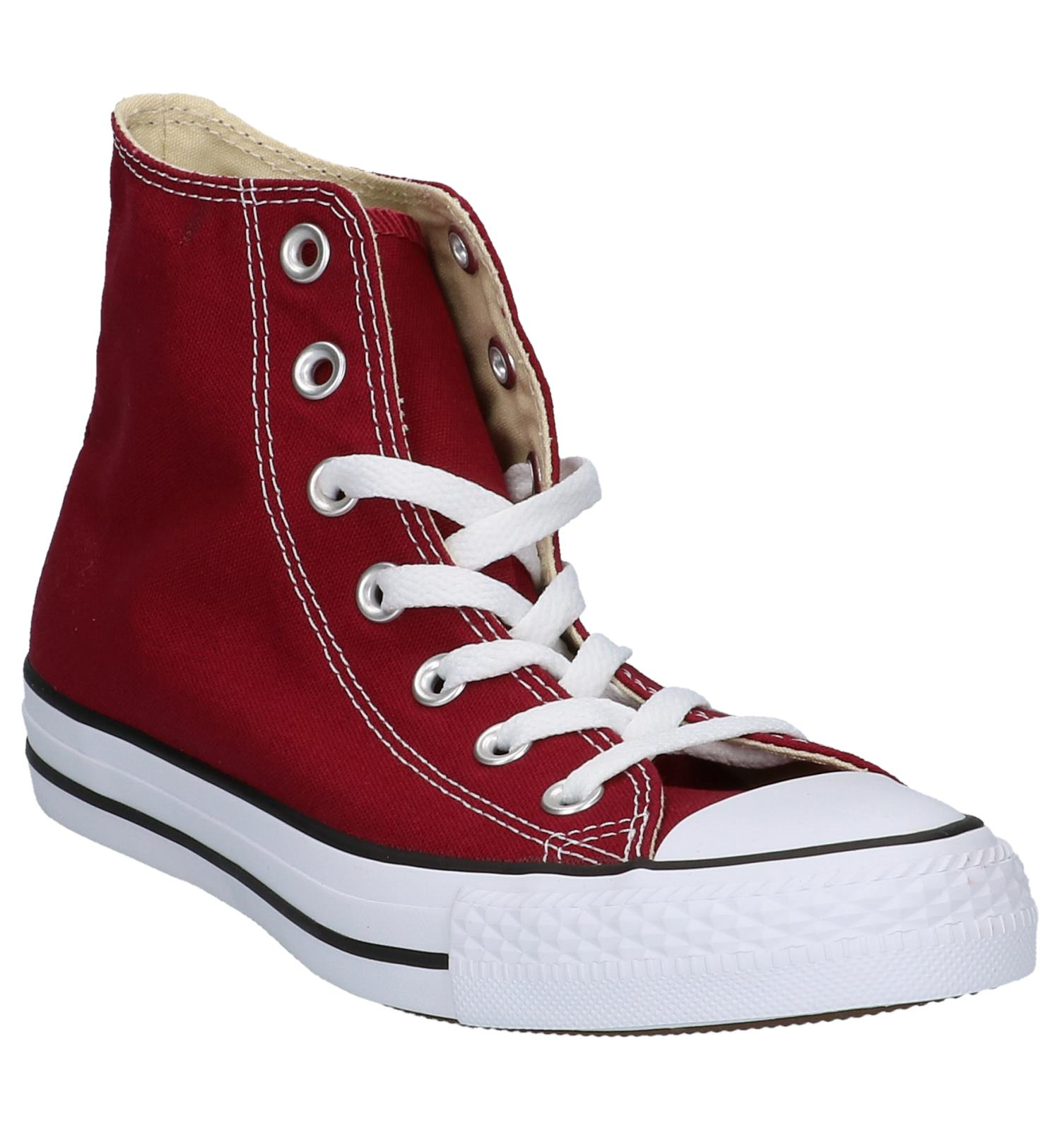 Star Bordeaux Sportieve Converse Hi Hoge Sneakers All Core PkXZiuwTO