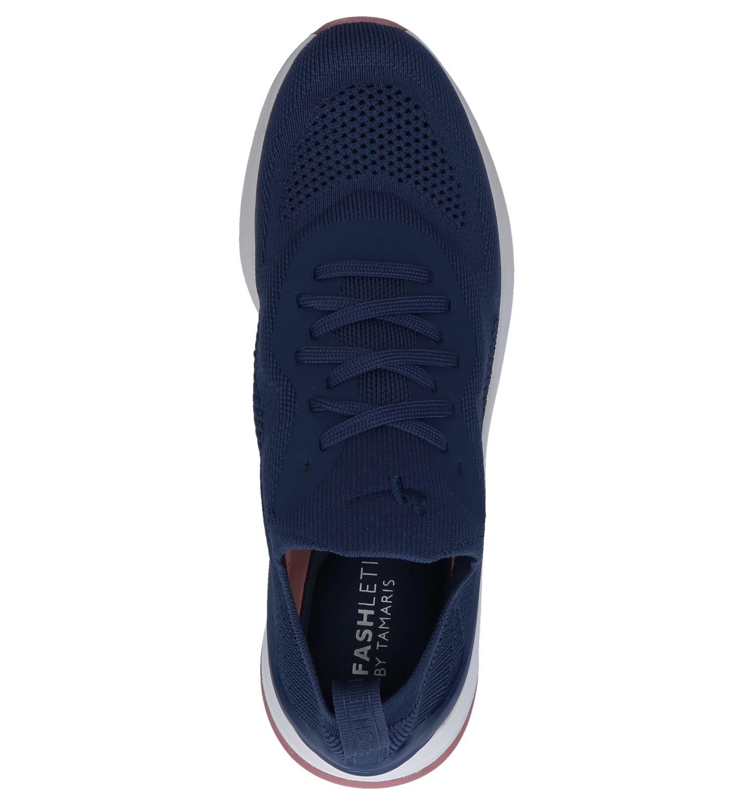 Slip on Donkerblauwe Fashletics Tamaris Sneakers IyYfvb7m6g