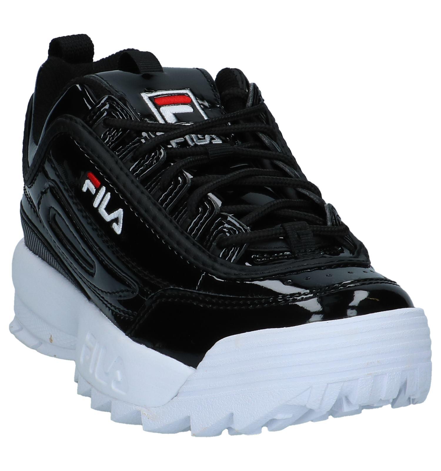 54bb066b822 Zwarte Laké Sneakers Fila Disrupter   SCHOENENTORFS.NL   Gratis verzend en  retour