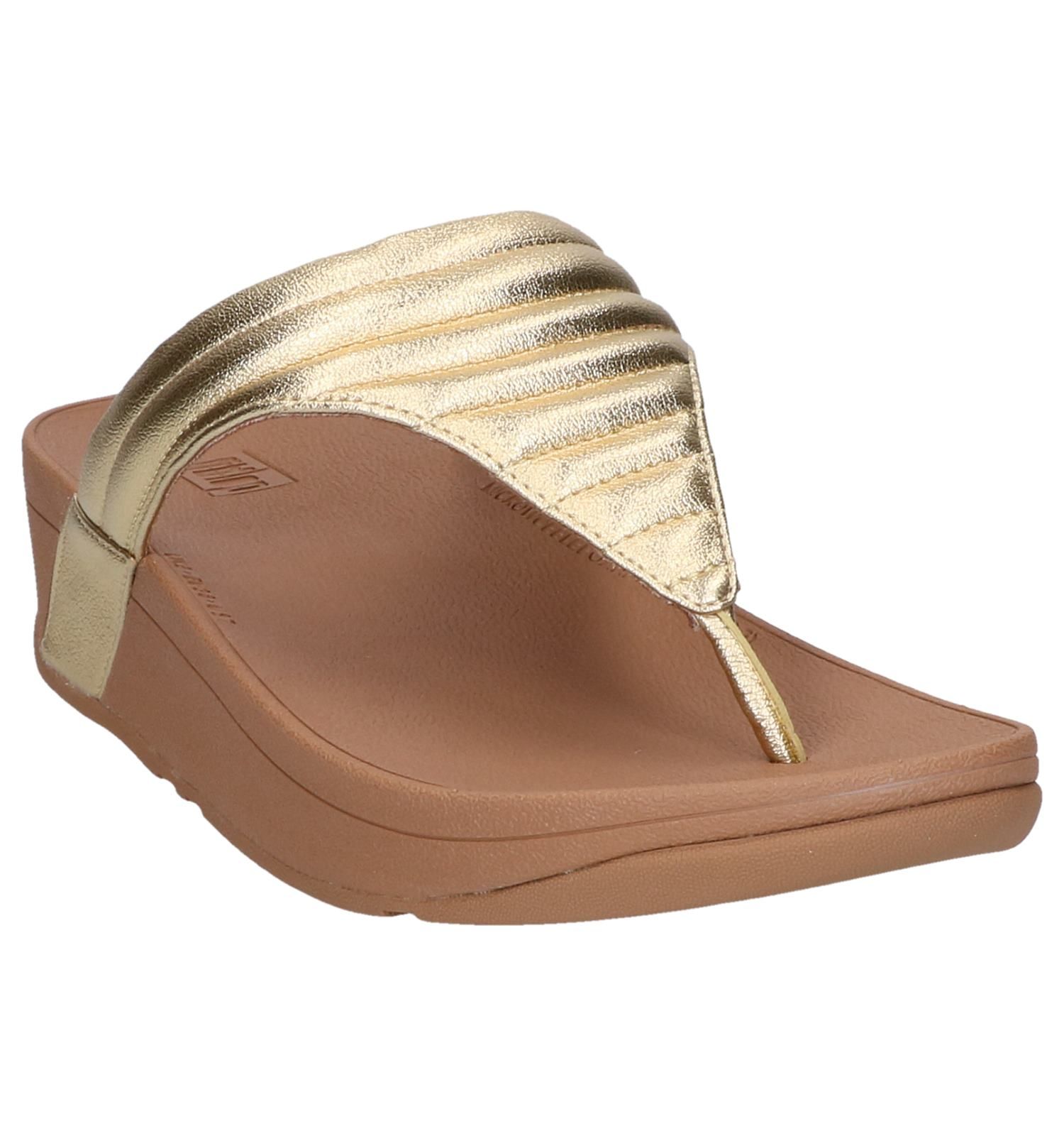 Slippers Slippers Gouden Gouden Lottie Gouden Padded Fitflop Fitflop Lottie Fitflop Lottie Slippers Padded Yb76yvfg