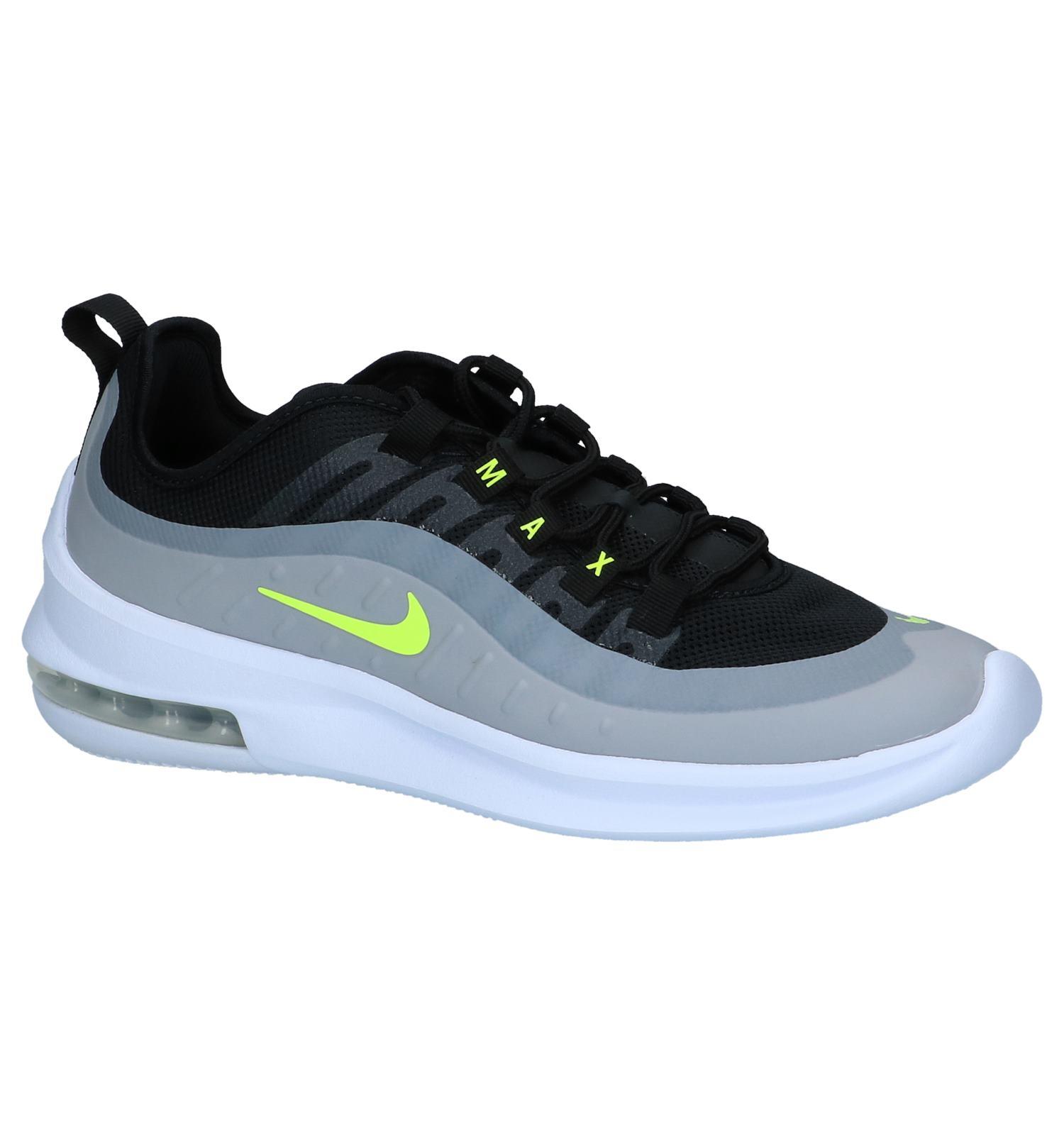 6b823cb65e8 Grijs/Zwarte Sneakers Nike Air Max Axis   SCHOENENTORFS.NL   Gratis verzend  en retour